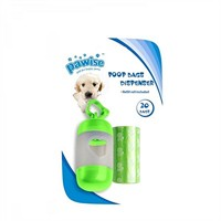 Pawise Poop Bags Dispenser-Yedekli Dışkı Toplama Seti