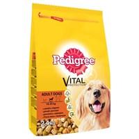 Pedigree Kuru Erişkin Kümes Hayvanı Sebze&Pirinç Kuru Köpek Maması 2,6 Kg