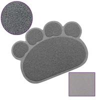 Catmat Pati Desenli Kedi Paspası Gri 60X45 Cm