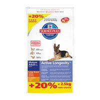 Hill's Science Plan Büyük Irk Yaşlı Köpek Maması 14,5 Kg Bonus Bag (Mature Adult 5+ Active Longevity)