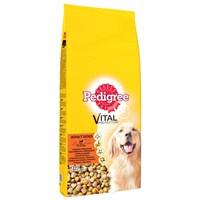 Pedigree Kuru Erişkin Kümes Hayvanı & Pirinç Köpek Maması 15 kg