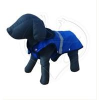 Pet Style Reflektörlü Anorak Mavi Köpek Kıyafeti No:7