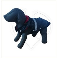 Pet Style Reflektörlü Anorak Siyah Köpek Kıyafeti No:9