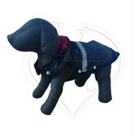 Pet Style Reflektörlü Anorak Siyah Köpek Kıyafeti No:10