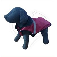 Pet Style Reflektörlü Anorak Kırmızı Köpek Kıyafeti No:10
