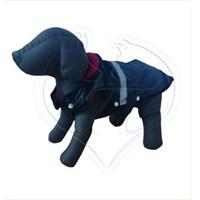 Pet Style Reflektörlü Anorak Siyah Köpek Kıyafeti No:12