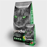Prochoice Pro 36 Kuzu Ve Pirinçli Yetişkin Kedi Kuru Mama 15Kg
