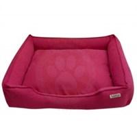 Lepus Soft Fuşya Fermuarlı Kedi Köpek Yatağı Large No:3