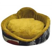 Lepus Sünger Simit Kedi Ve Küçük Irk Köpek Yatağı (Eiffel)