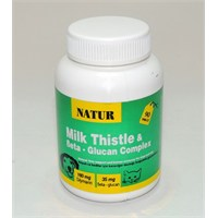 Natur Milk Thistle & Beta-Glucan Complex 90 Tablet