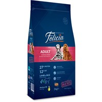 Felicia 3 Kg Kuzulu Yetişkin Köpek Maması