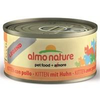 Almo Nature Legend Kitten Tavuk Kedi Konservesi 70Gr
