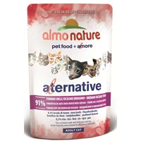 Almo Nature Alternative Cats Hint Okyanus Tunalı Kedi Konservesi 55 G.