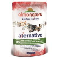 Almo Nature Alternative Cats Pasifik Tuna Kedi Konservesi 55 G.