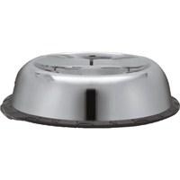 Dr.Sacchi Çelik Mama Kabı - Kaydırmaz Lastikli- Desensiz Oval - 77050B - 32 oz - 0,90 L