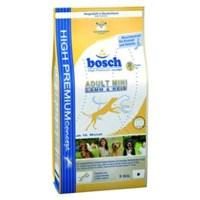 Bosch Adult Mini Lamb & Rice - Kuzulu Küçük Irk Köpek Maması 3 Kg