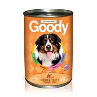 24 x 415 gr Goody Tavuk & Hindili Yaş köpek Maması