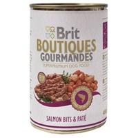 Brit Bountiques Gourmandes Somonlu Konserve Köpek maması 400gr