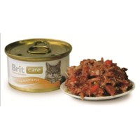 12'li Brit Care Tuna, Carrot & Peat Tuna Balık ve Havuçlu Kedi Konservesi 80gr