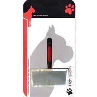 Luxury Paws Plastik Saplı Metal Fırça XL 18 cm