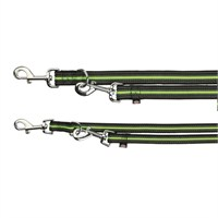 Trixie Köpek Gezdirme Kayışı L-Xl 2M/17Mm Siyah/Yeşil