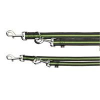 Trixie köpek gezdirme kayışı S-L 2m/25mm syh/yeşil