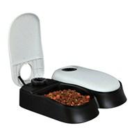 Le Bistro TX2 Kedi ve Köpek Otomatik Beslenme Makinesi 2x300 ml