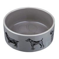 Trixie köpek seramik mama&su kabı 0.6lt/ø16cm
