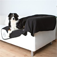 Trixie Köpek Çift Taraflı Battaniye 150x100cm Siyah Pati Desenli
