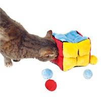 Trixie Kedi Peluş Oyuncak Küp Ve Topları