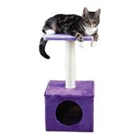 Trixie kedi oyun ve tırmalama evi, 61 cm, mor/lila