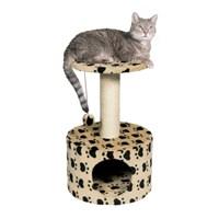 Trixie Patili kedi oyun ve tırmalama evi 61 cm bej