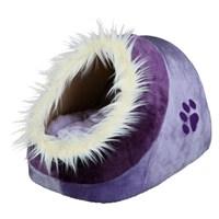 Trixie köpek&kedi peluş yatak, 35×26×41cm lila/mor