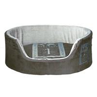 Trixie Kenarlı Köpek Yatağı 85x65 cm nefti/açık gri Renkli