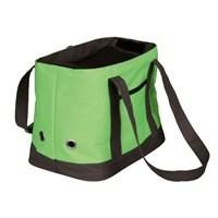 Trixie köpek taşıma çantası + Ödül Çantası 21x23x33cm,yeşil/kahve