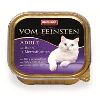 Animonda Vom Feinsten Deniz Ürünleri Tavuklu Yaş Kedi Maması 100 gr