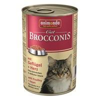 Animonda Brocconis Tavuk Yürekli Yetişkin Kedi 400 Gr