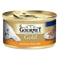 Pro Plan Pro Plan Gourmet Gold Hindi Etli Kıyılmış Konserve Kedi Maması 85 Gr x 24'lü