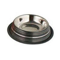 Renkli Desenli Çelik Mama Kabı (ASRPSL32)