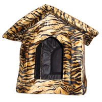 Pet Style Kedi ve Köpekler İçin Çatılı Yuva 37x37x50
