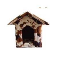 Pet Style Kedi ve Köpekler İçin Çatılı Yuva Tay Tüylü 37x37x50