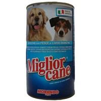 12 x 1250 gr Miglior Gatto Balıklı Yetişkin Konserve Köpek Maması