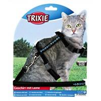 Trixie kedi göğüs tasması seti, 22-36cm/10mm