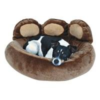Trixie Pati Şekilli Köpek Yatağı 60x50 cm Kahverengi Renkli
