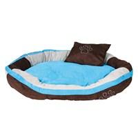 Trixie köpek yatağı 120x80cm Kahverengi&Aquamarin