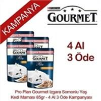 Pro Plan Gourmet Izgara Somonlu Yaş Kedi Maması 85gr - 4 Al 3 Öde