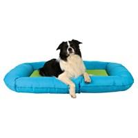 Trixie köpek dış mekan yatağı 80x60cm Turkuaz