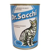 Dr.Sacchi Kedi Konserve Ton Balıklı 400 Gr