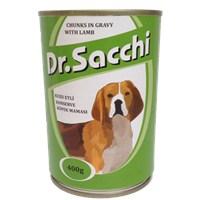 Dr.Sacchi Köpek Konserve Kuzu Etli 400 gr gk