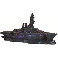 Dekor Işıklı Savaş Gemisi